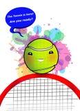 Tênis da bola Foto de Stock