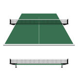Tênis de mesa, rede do pong do sibilo Fotos de Stock