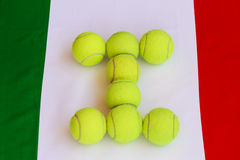 Tênis italiano foto de stock royalty free