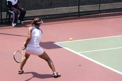 Tênis júnior das senhoras Foto de Stock Royalty Free