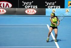 Tênis profissional no Australian 2012 aberto imagens de stock royalty free