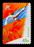 Tênis, serie de Paralympics, cerca de 2000 Foto de Stock Royalty Free