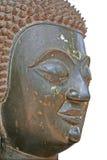 Tête bouddhiste de statue Image libre de droits