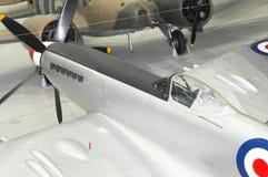 Tête brûlée Mk 24 VN485 de Supermarine, au musée impérial Duxford de guerre photo stock