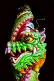Tête chinoise de dragon Images libres de droits