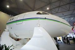 Tête chinoise des aéronefs C919 Photos libres de droits