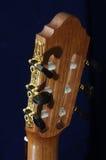 Tête classique de guitare Photo stock