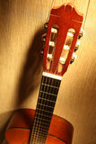 Tête classique de guitare Photos stock