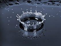 Tête d'éclaboussure de baisse de l'eau Photo libre de droits