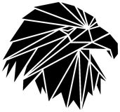 Tête d'aigle Photos libres de droits