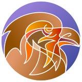 Tête d'aigle Photo libre de droits