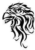 Tête d'aigle illustration de vecteur