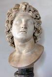 Tête d'Alexandre le grand images stock
