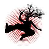 Tête d'arbre illustration libre de droits