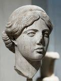 Tête d'Artemis Photos libres de droits