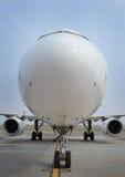 Tête d'avion dessus Image libre de droits