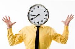 Tête d'horloge Image libre de droits