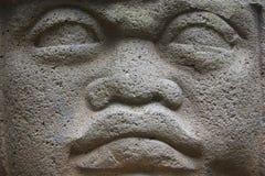 Tête d'Olmec Photos stock