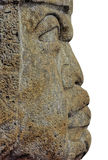 Tête d'Olmec image libre de droits