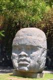 Tête d'Olmec Photos libres de droits