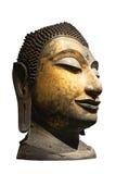 Tête d'une image de Bouddha Photos stock