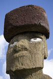 Tête d'une statue image stock