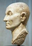 Tête d'une statue antique Photos libres de droits