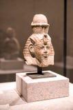 Tête d'une statue d'Amenhotep III dans le musée égyptien à Berlin Image stock