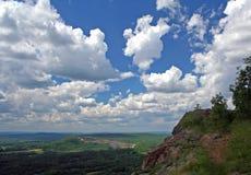 Tête dans les nuages Photographie stock libre de droits