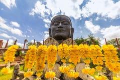Tête de Bouddha d'image Images libres de droits