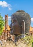 Tête de Bouddha d'image Photos libres de droits