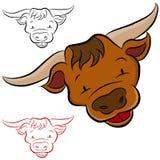 Tête de Bull Photo libre de droits