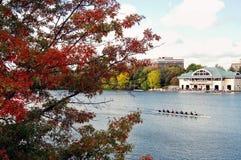 Tête de Charles Regatta à Cambridge, le Massachusetts Photos libres de droits