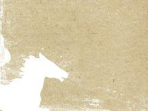 Tête de cheval illustration de vecteur