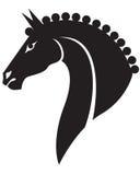 Tête de cheval Photographie stock libre de droits