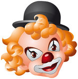 Tête de clown Image stock