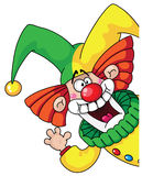 Tête de clown Photos libres de droits