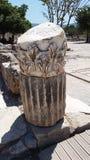 Tête de Corinthion dans Ephesus Image libre de droits