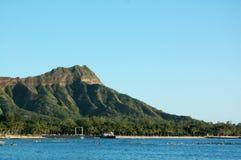 Tête de diamant de Waikiki Images stock