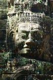 Tête de Dieu chez Angkor Vat Photographie stock