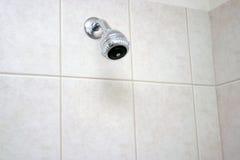 Tête de douche de salle de bains Photographie stock libre de droits