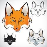Tête de Fox Photos stock
