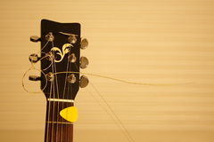 Tête de guitare Photo stock
