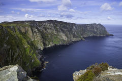 Tête de klaxon, comté le Donegal Image libre de droits