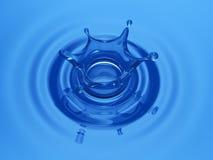 Tête de l'eau Image libre de droits