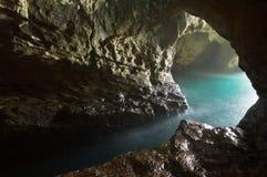 Tête de la grotte de roche Photographie stock libre de droits