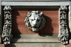 Tête de lion Photos libres de droits