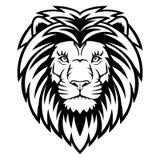 Tête de lion illustration de vecteur