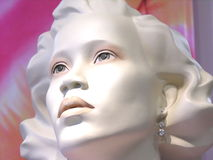 Tête de mannequin Photos stock