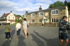 Tête de Monsal, Derbyshire Photo libre de droits